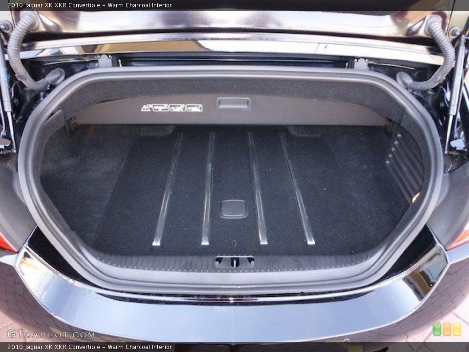 Warm Charcoal Interior Trunk for the 2010 Jaguar XK XKR Convertible #70739192