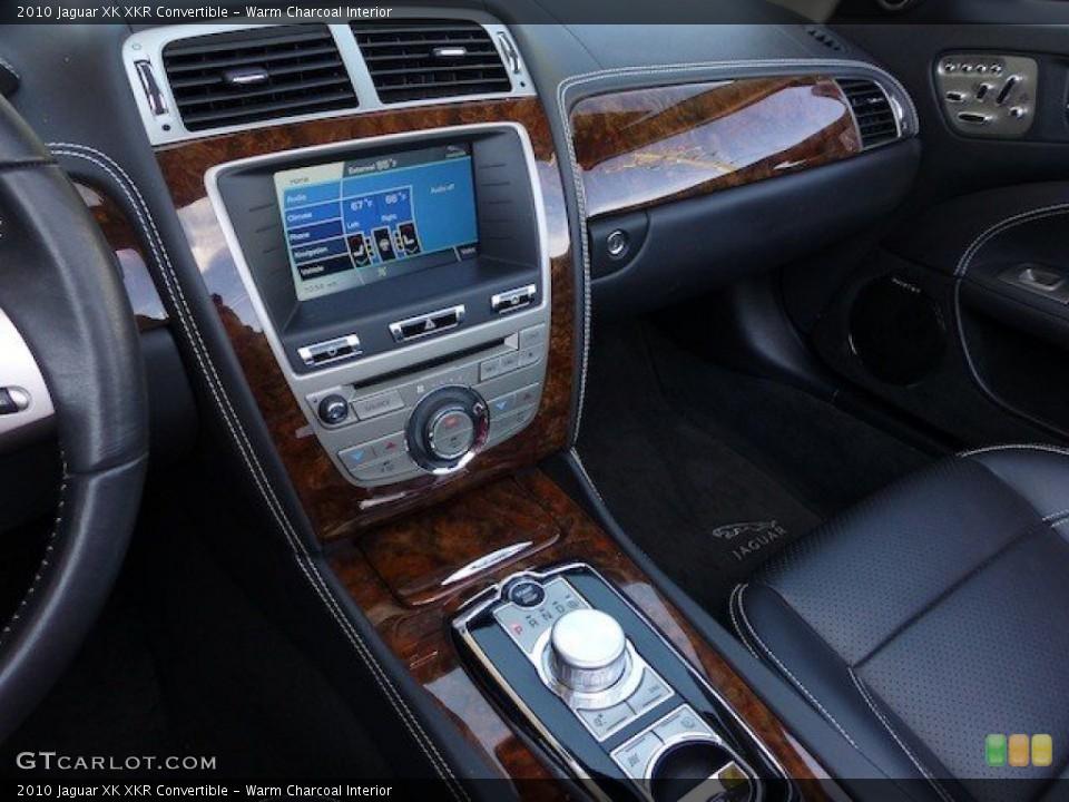 Warm Charcoal Interior Controls for the 2010 Jaguar XK XKR Convertible #70739324