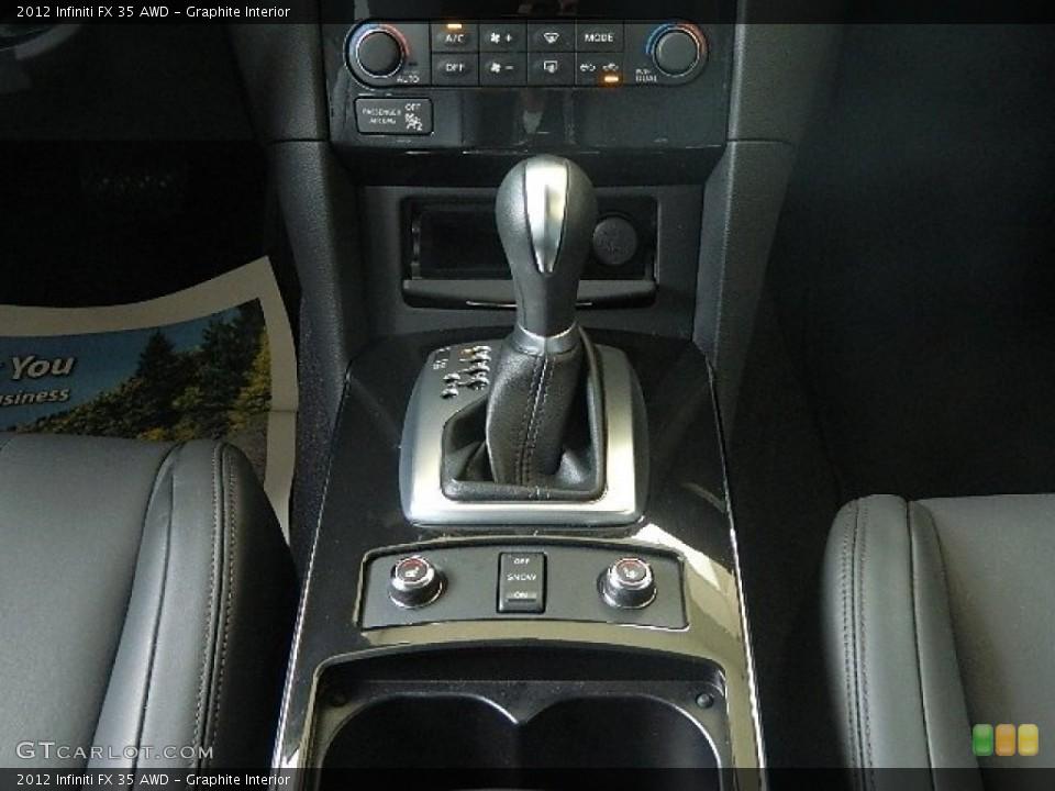 Graphite Interior Transmission for the 2012 Infiniti FX 35 AWD #70863487