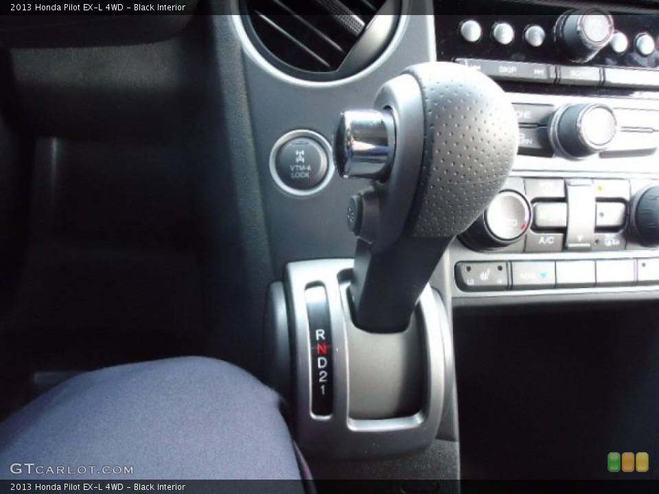 Black Interior Transmission for the 2013 Honda Pilot EX-L 4WD #70916041