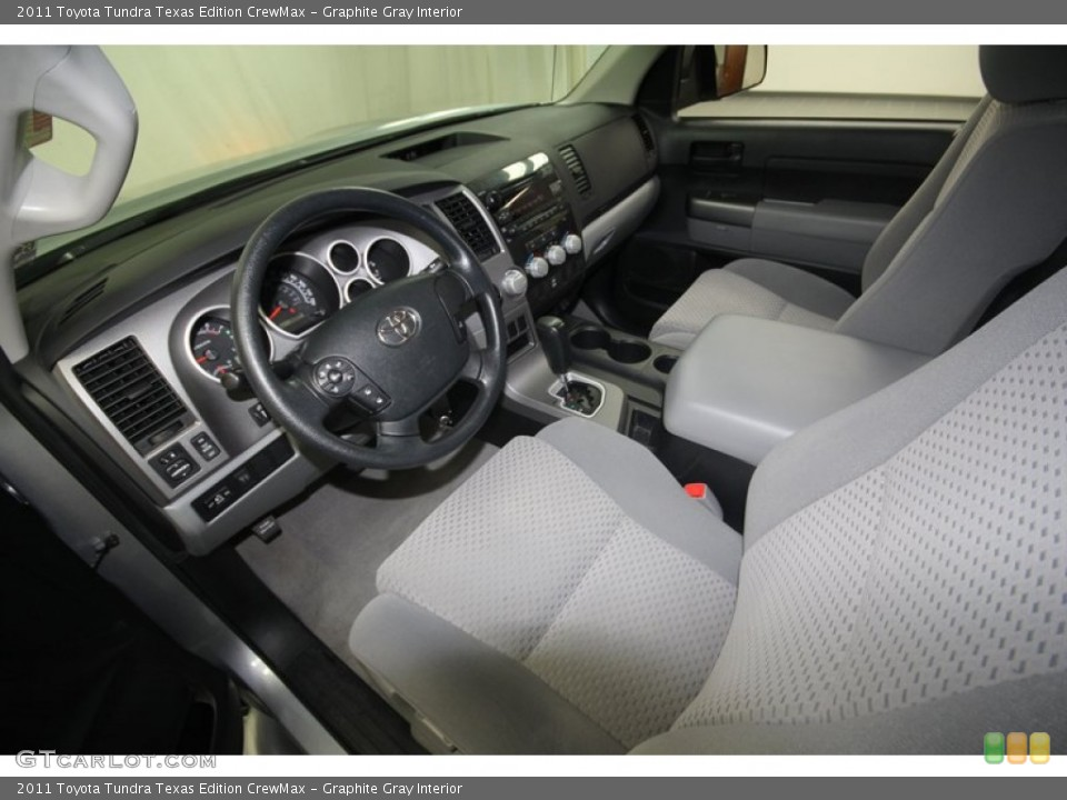Graphite Gray Interior Photo for the 2011 Toyota Tundra Texas Edition CrewMax #70937905