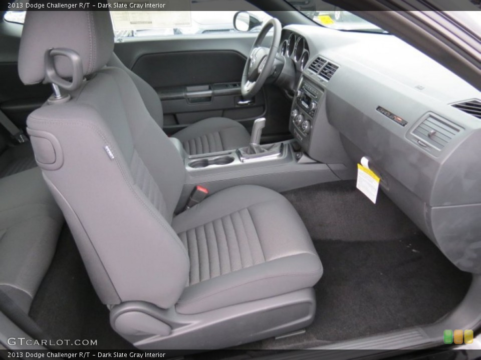 Dark Slate Gray Interior Photo for the 2013 Dodge Challenger R/T #70958305