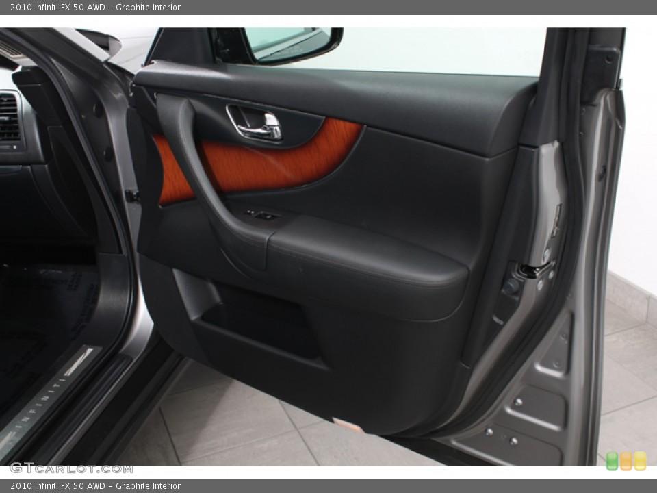 Graphite Interior Door Panel for the 2010 Infiniti FX 50 AWD #71214436