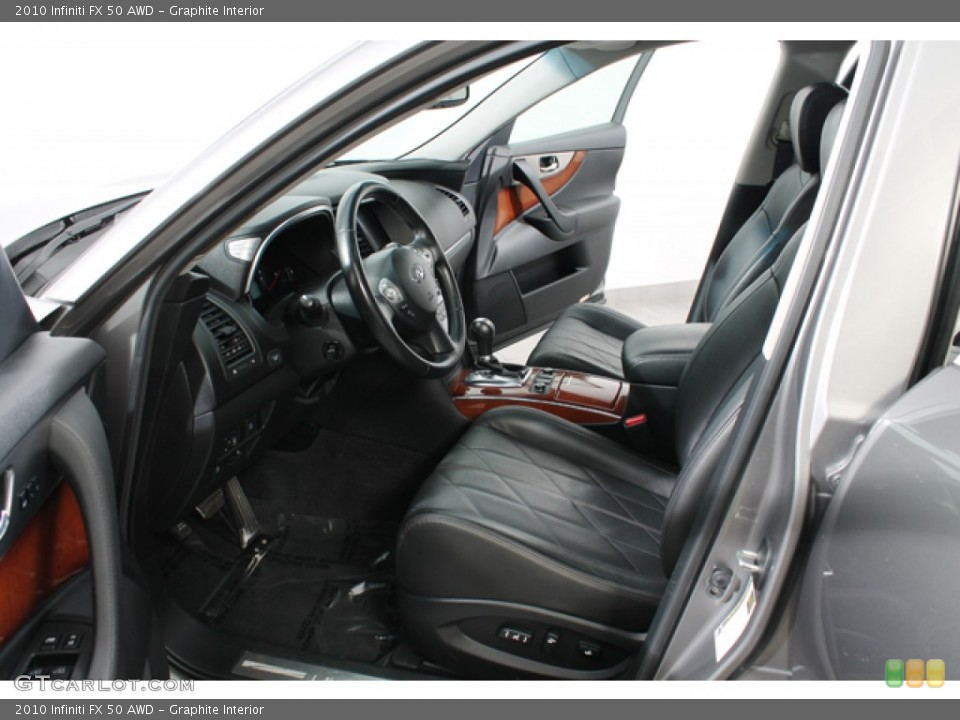 Graphite Interior Photo for the 2010 Infiniti FX 50 AWD #71214487