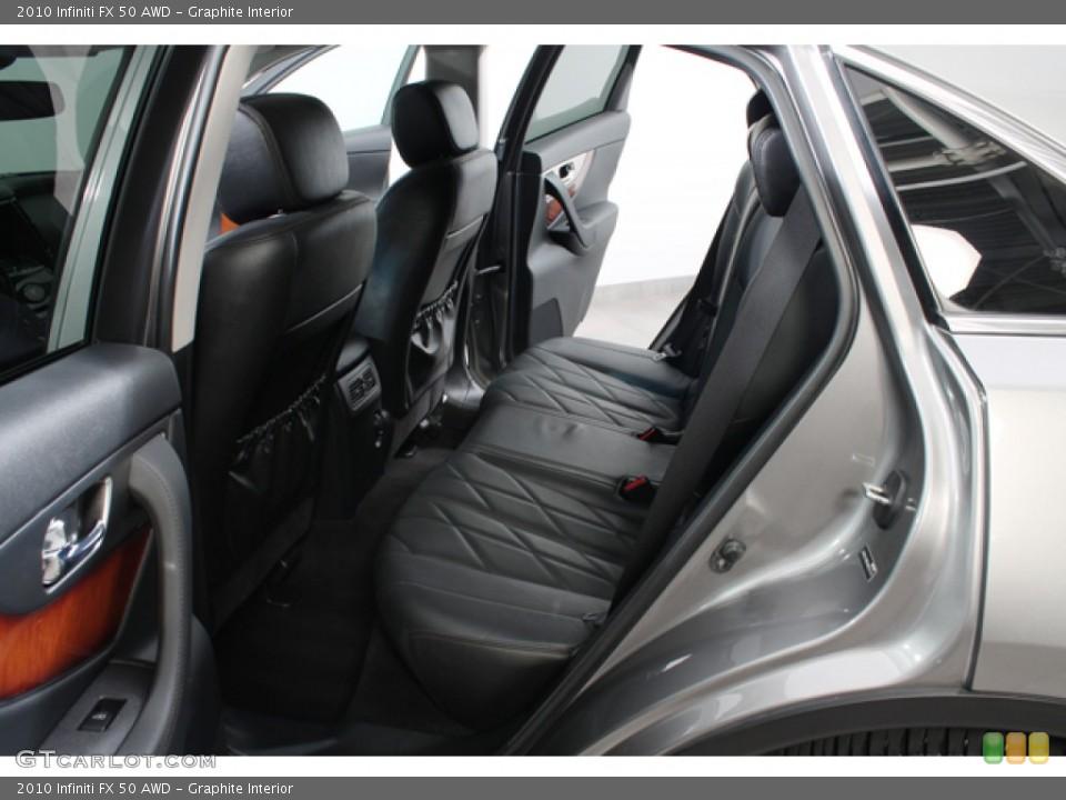 Graphite Interior Photo for the 2010 Infiniti FX 50 AWD #71214496