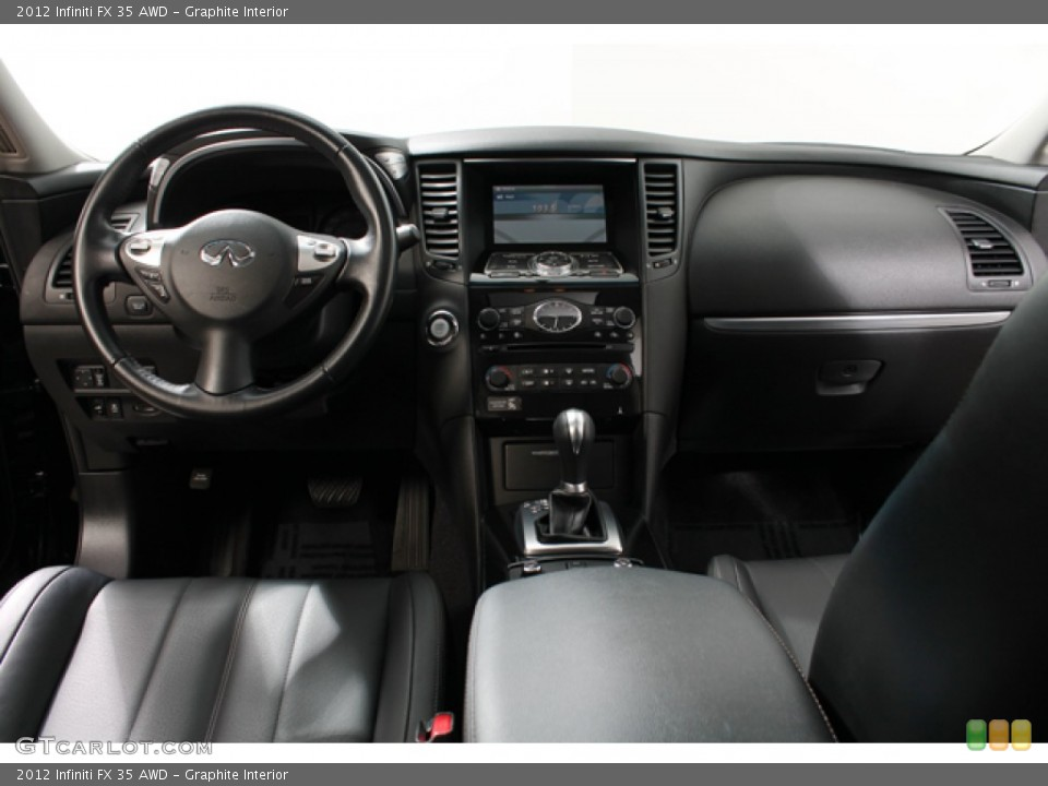 Graphite Interior Photo for the 2012 Infiniti FX 35 AWD #71368613