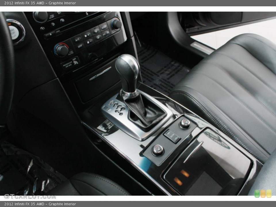 Graphite Interior Transmission for the 2012 Infiniti FX 35 AWD #71368673
