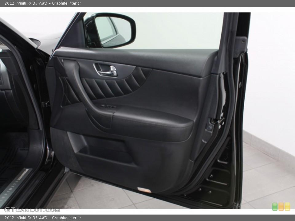 Graphite Interior Door Panel for the 2012 Infiniti FX 35 AWD #71368682