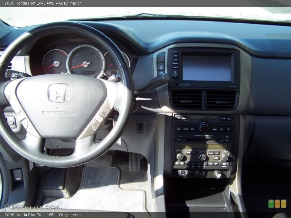 Gray Interior Dashboard for the 2006 Honda Pilot EX-L 4WD #71395036
