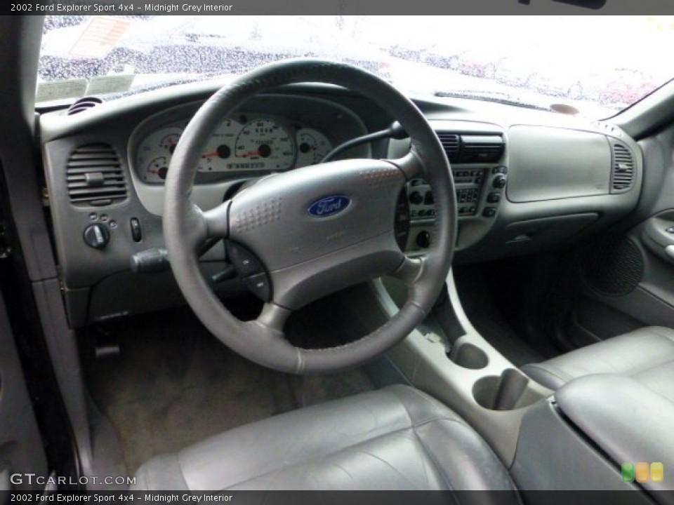 Midnight Grey Interior Prime Interior for the 2002 Ford Explorer Sport 4x4 #71423785
