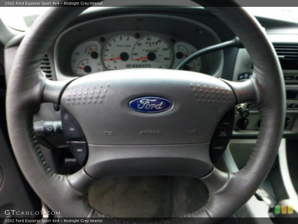 Midnight Grey Interior Steering Wheel for the 2002 Ford Explorer Sport 4x4 #71423806
