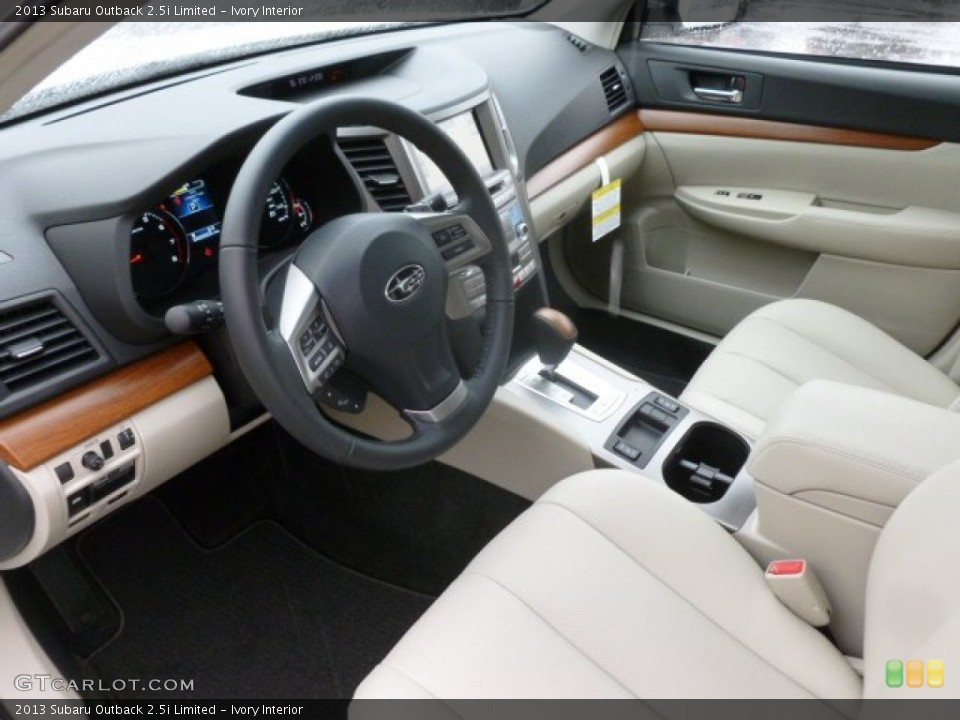 Ivory Interior Prime Interior For The 2013 Subaru Outback Limited 71496274