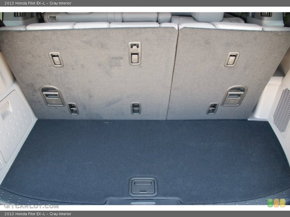 Gray Interior Trunk for the 2013 Honda Pilot EX-L #71528845