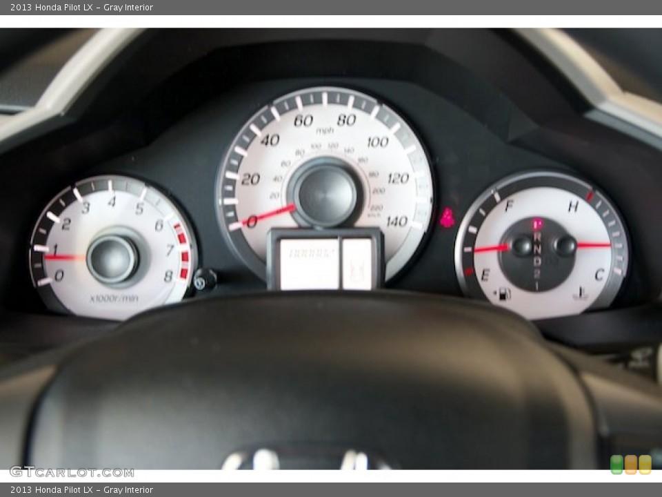Gray Interior Gauges for the 2013 Honda Pilot LX #71529007