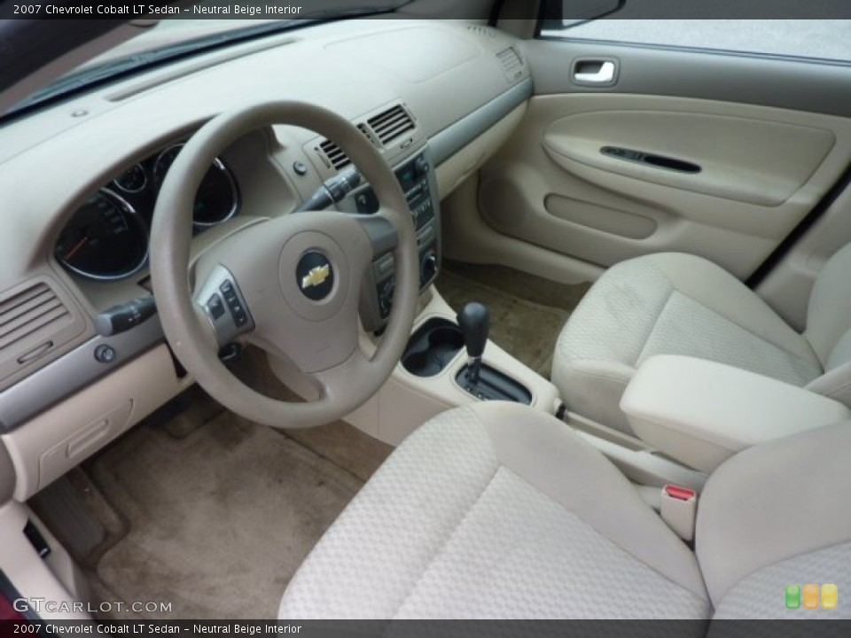 Neutral Beige 2007 Chevrolet Cobalt Interiors