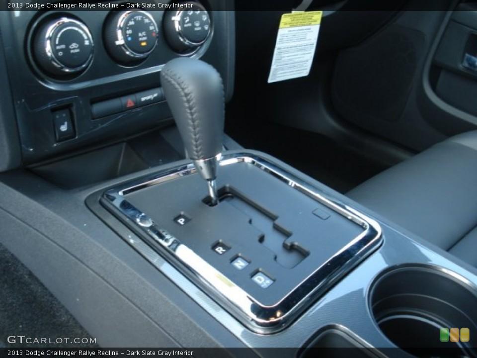 Dark Slate Gray Interior Transmission for the 2013 Dodge Challenger Rallye Redline #71748756