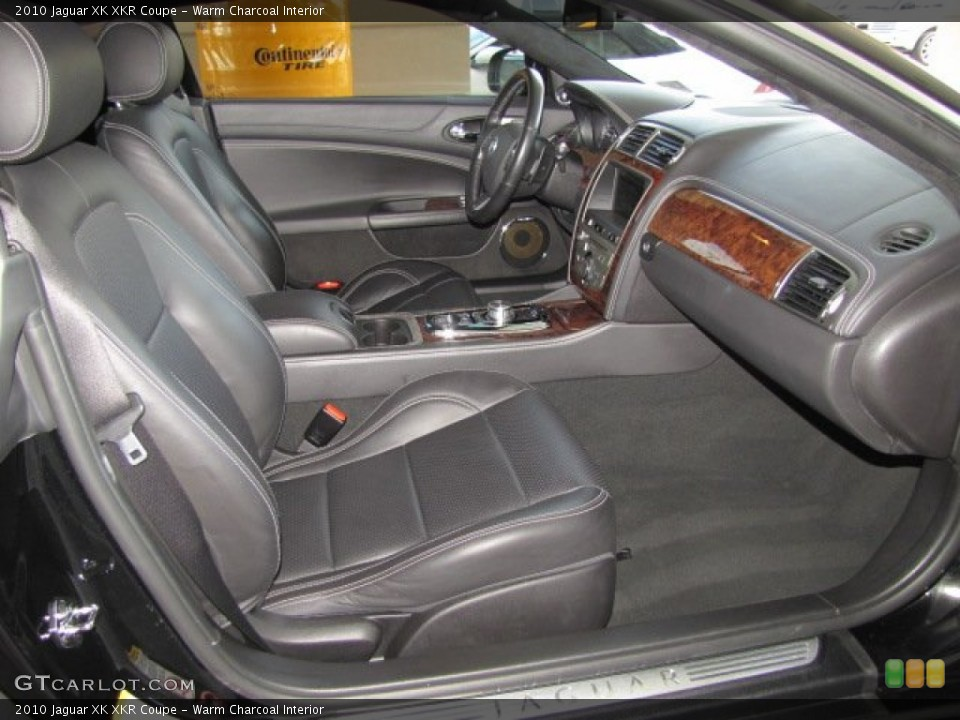 Warm Charcoal Interior Photo for the 2010 Jaguar XK XKR Coupe #71801076