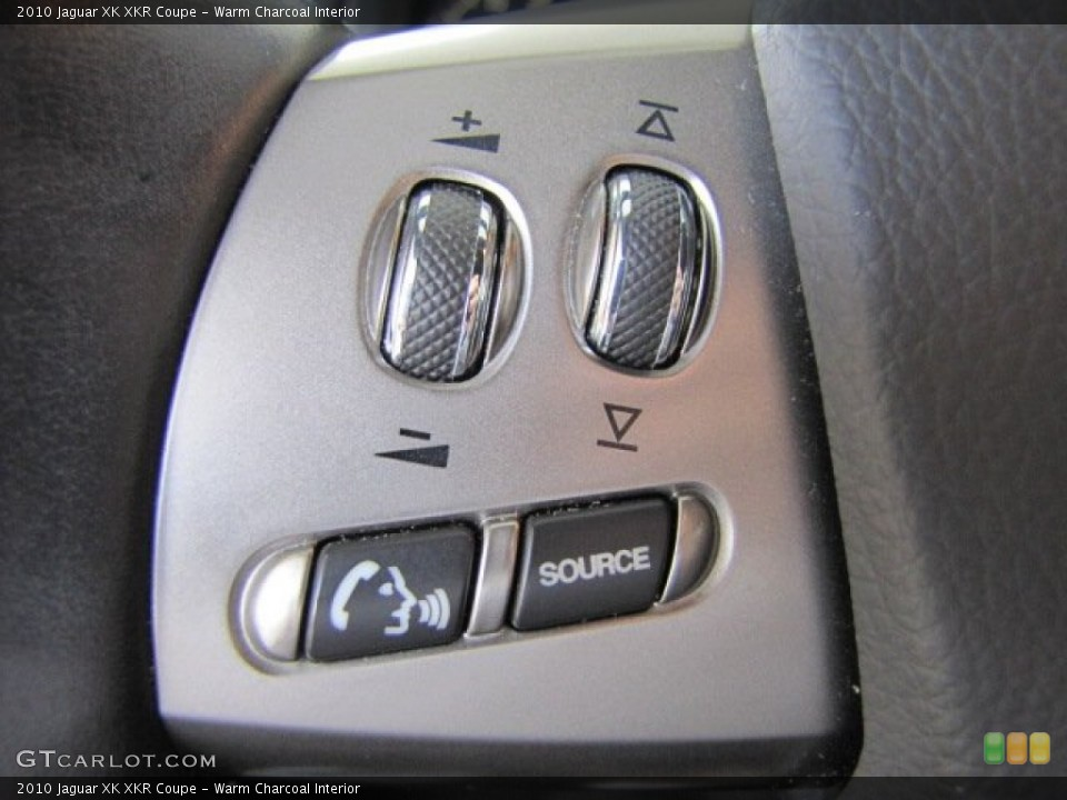Warm Charcoal Interior Controls for the 2010 Jaguar XK XKR Coupe #71801169