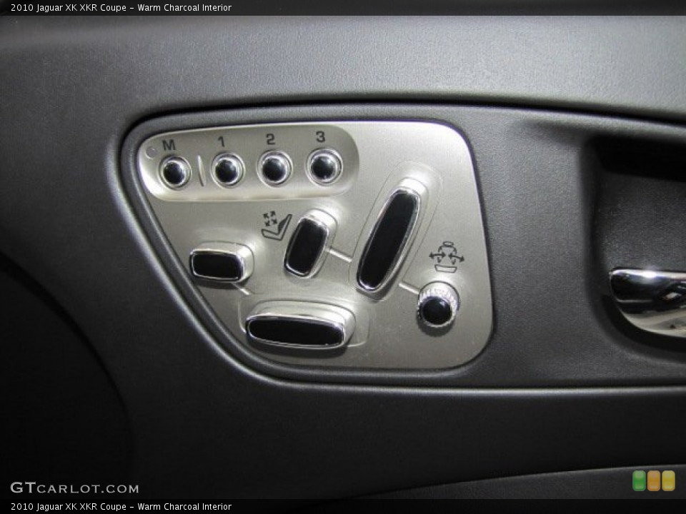 Warm Charcoal Interior Controls for the 2010 Jaguar XK XKR Coupe #71801235