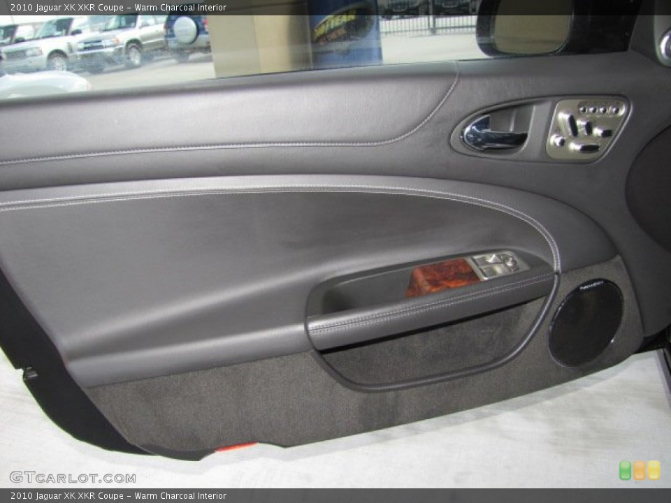 Warm Charcoal Interior Door Panel for the 2010 Jaguar XK XKR Coupe #71801316