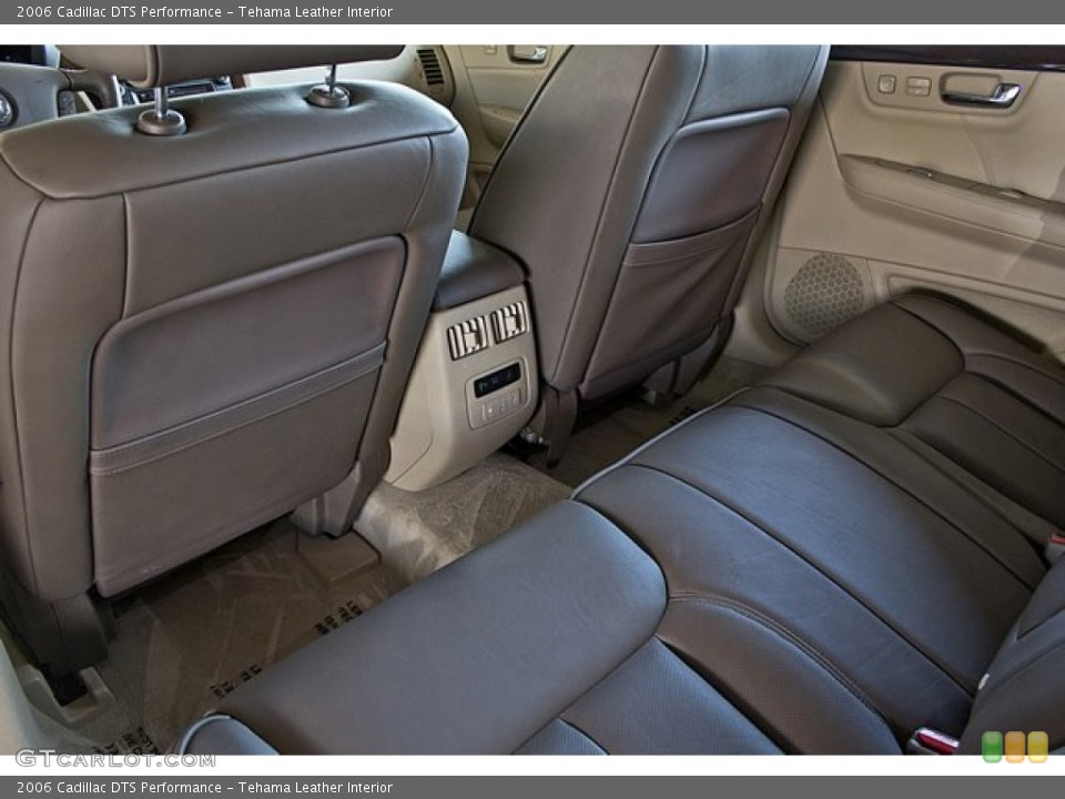 Tehama Leather Interior Rear Seat For The 2006 Cadillac Dts