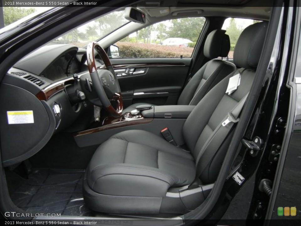 Black 2013 Mercedes-Benz S Interiors