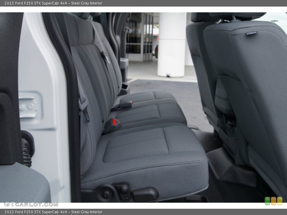 Ford F-150 Rear-Seat Removal