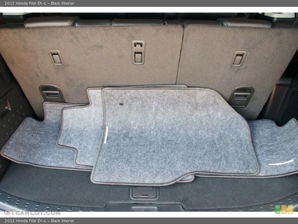 Black Interior Trunk for the 2013 Honda Pilot EX-L #72383127