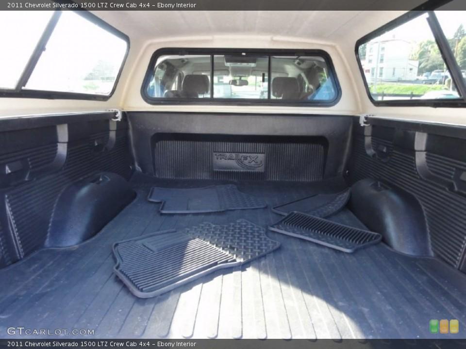 Ebony Interior Trunk for the 2011 Chevrolet Silverado 1500 LTZ Crew Cab 4x4 #72417170