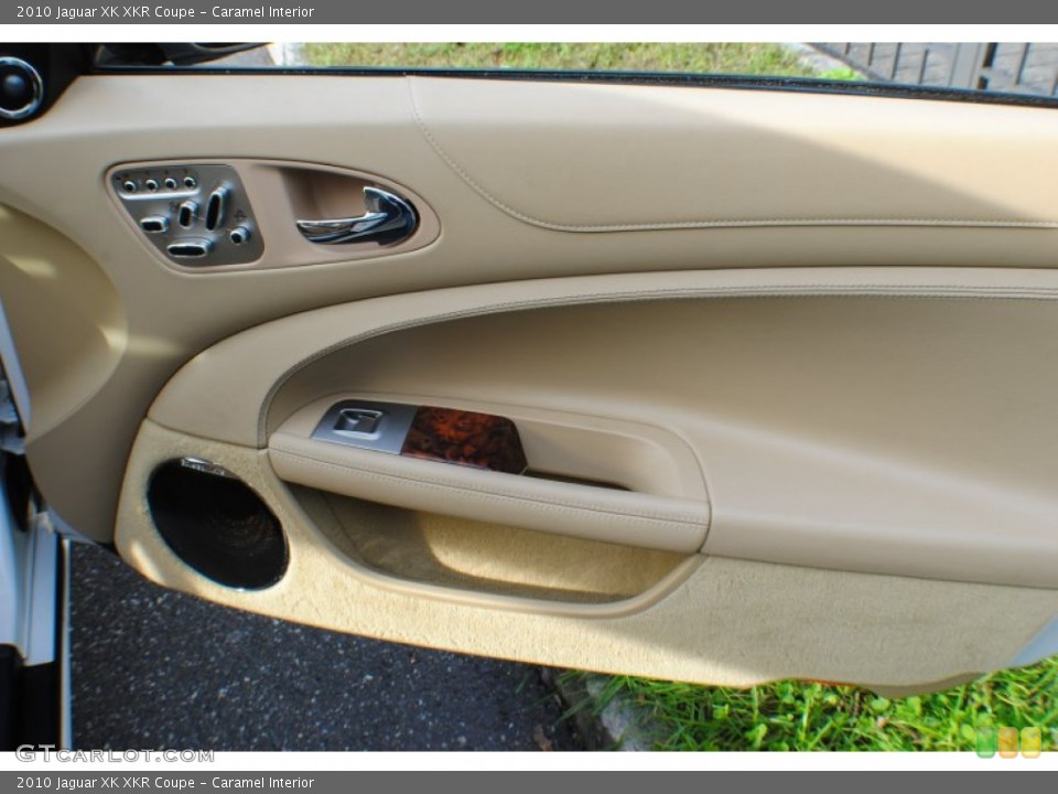 Caramel Interior Door Panel for the 2010 Jaguar XK XKR Coupe #72462913
