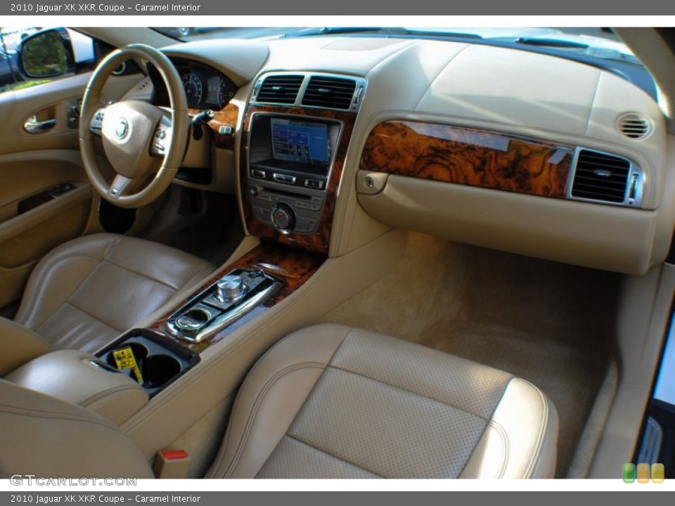 Caramel Interior Dashboard for the 2010 Jaguar XK XKR Coupe #72462937
