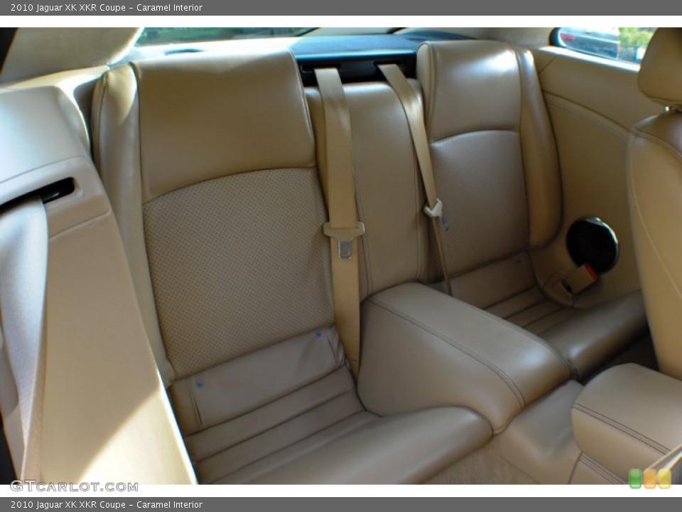 Caramel Interior Rear Seat for the 2010 Jaguar XK XKR Coupe #72462949