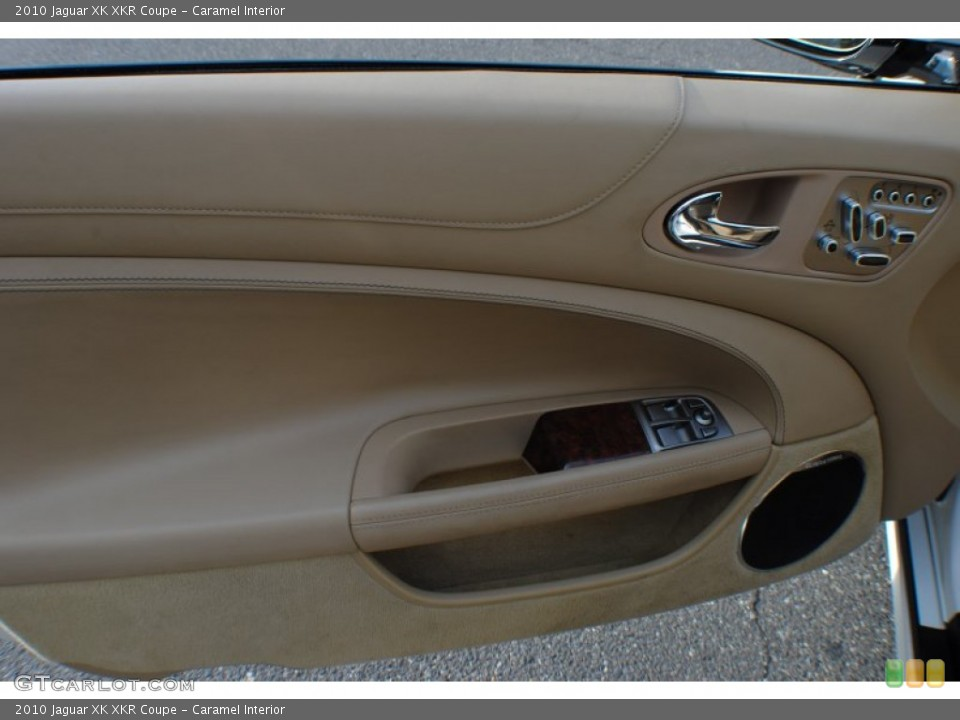 Caramel Interior Door Panel for the 2010 Jaguar XK XKR Coupe #72462970