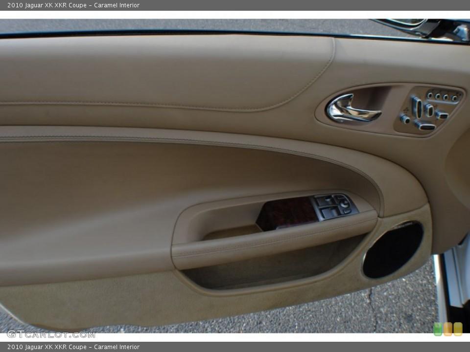 Caramel Interior Door Panel for the 2010 Jaguar XK XKR Coupe #72462970