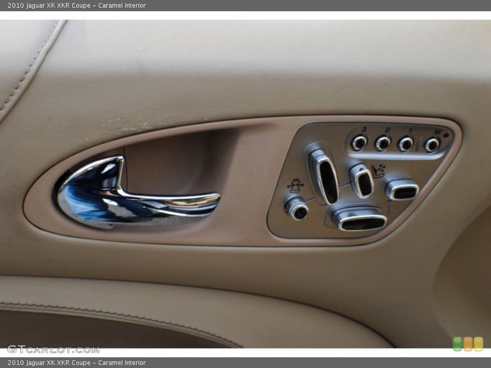 Caramel Interior Controls for the 2010 Jaguar XK XKR Coupe #72462988