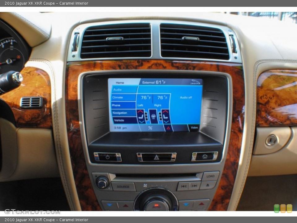 Caramel Interior Controls for the 2010 Jaguar XK XKR Coupe #72463012