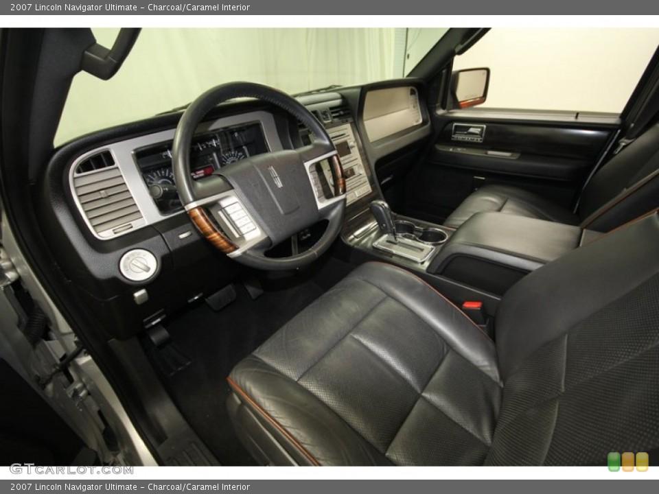 Charcoal/Caramel 2007 Lincoln Navigator Interiors