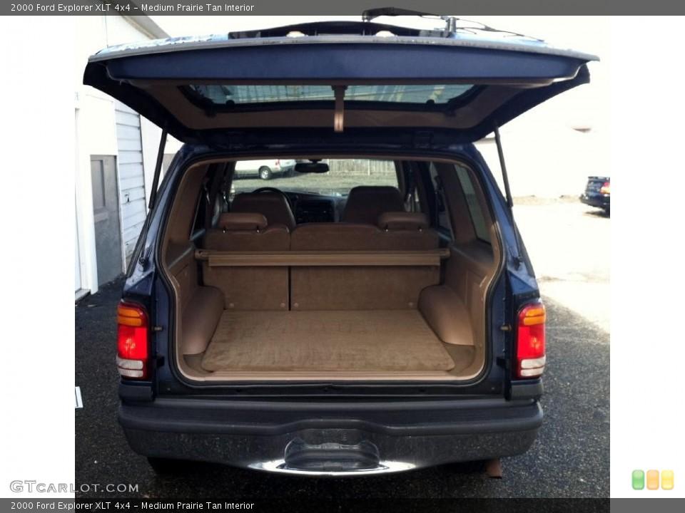 Medium Prairie Tan Interior Trunk for the 2000 Ford Explorer XLT 4x4 #72592770