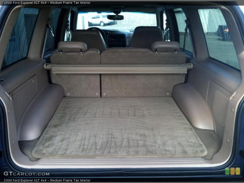 Medium Prairie Tan Interior Trunk for the 2000 Ford Explorer XLT 4x4 #72592785