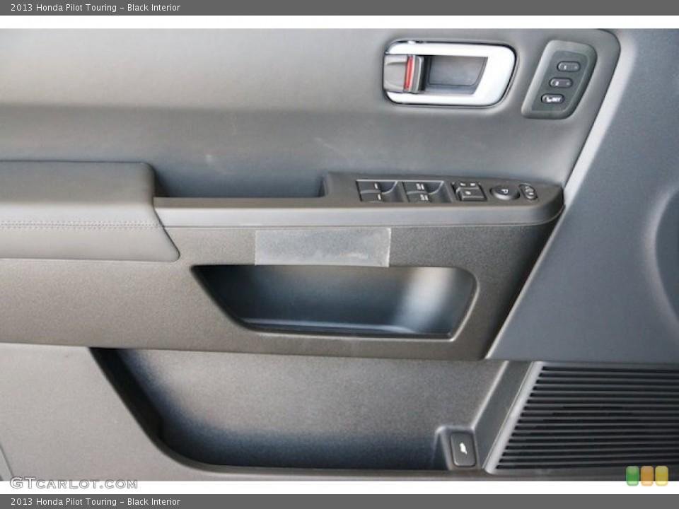 Black Interior Door Panel for the 2013 Honda Pilot Touring #72630689