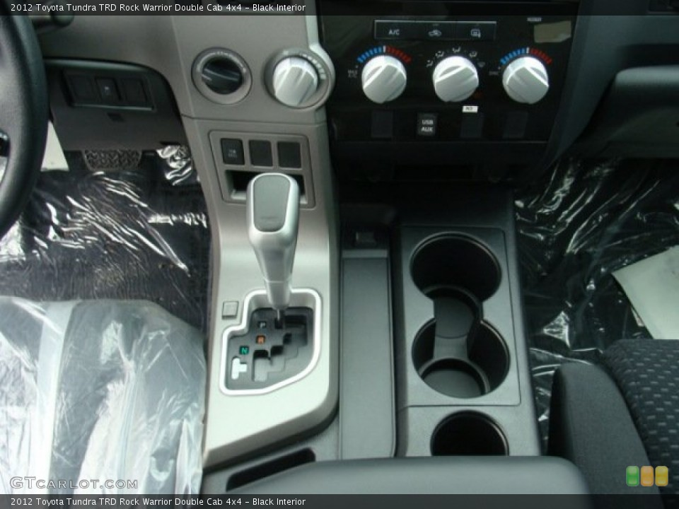 Black Interior Transmission for the 2012 Toyota Tundra TRD Rock Warrior Double Cab 4x4 #72690886