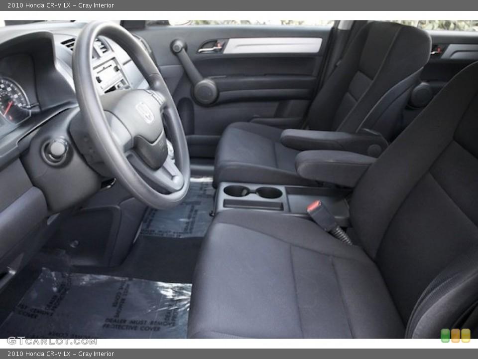 Gray Interior Photo for the 2010 Honda CR-V LX #72724224