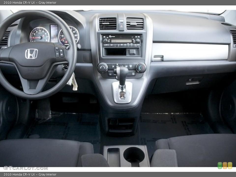 Gray Interior Dashboard for the 2010 Honda CR-V LX #72724265