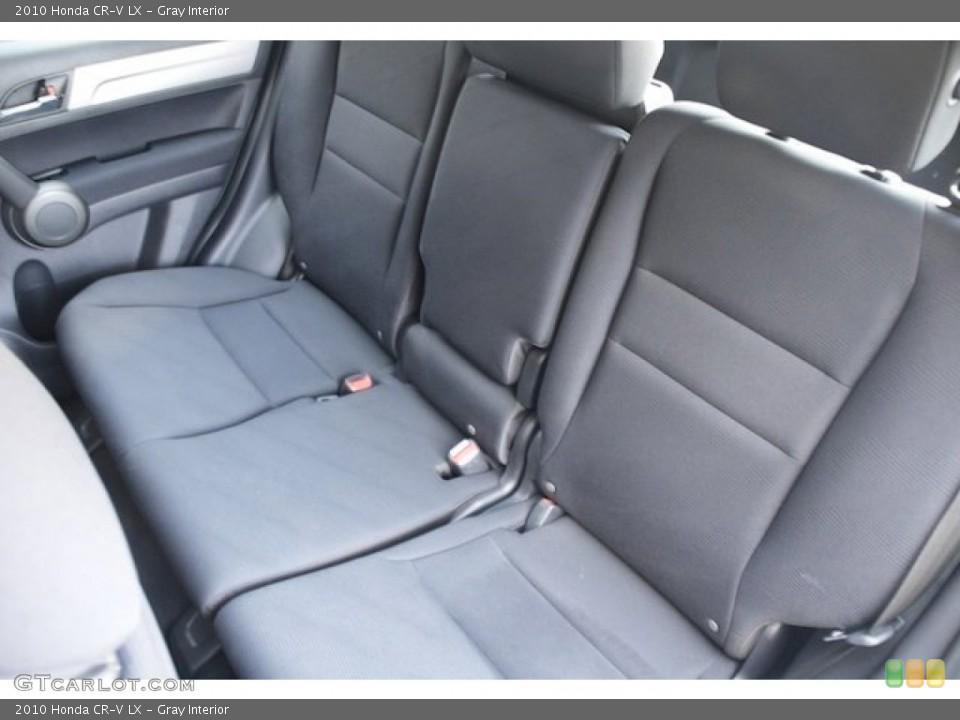 Gray Interior Rear Seat for the 2010 Honda CR-V LX #72724483