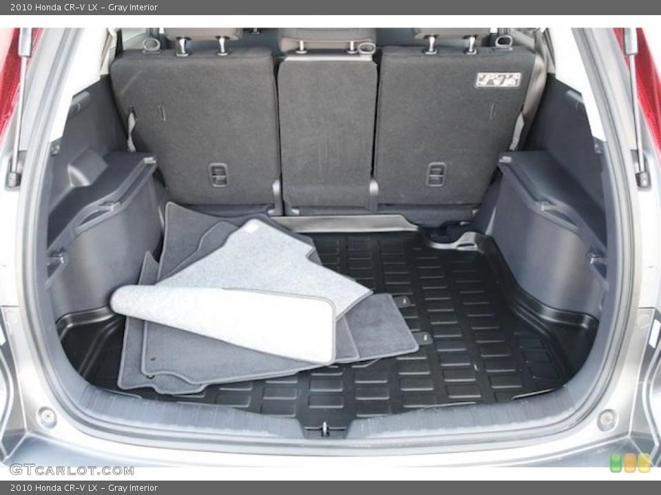 Gray Interior Trunk for the 2010 Honda CR-V LX #72724502