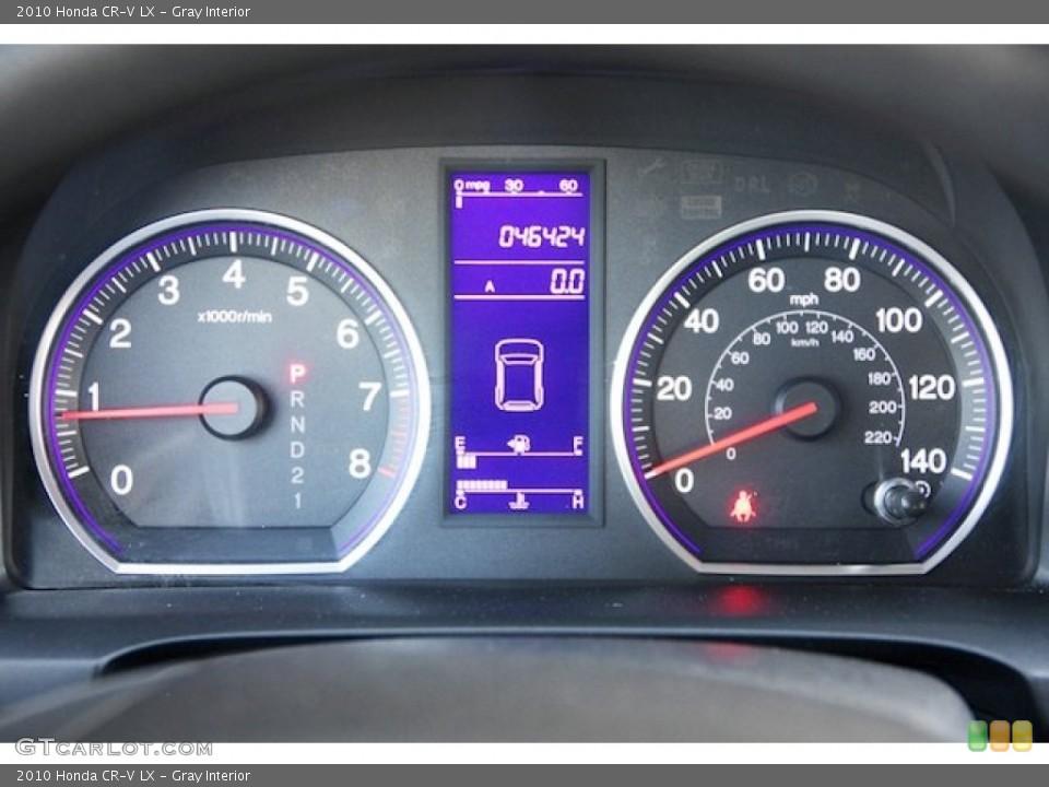 Gray Interior Gauges for the 2010 Honda CR-V LX #72724649