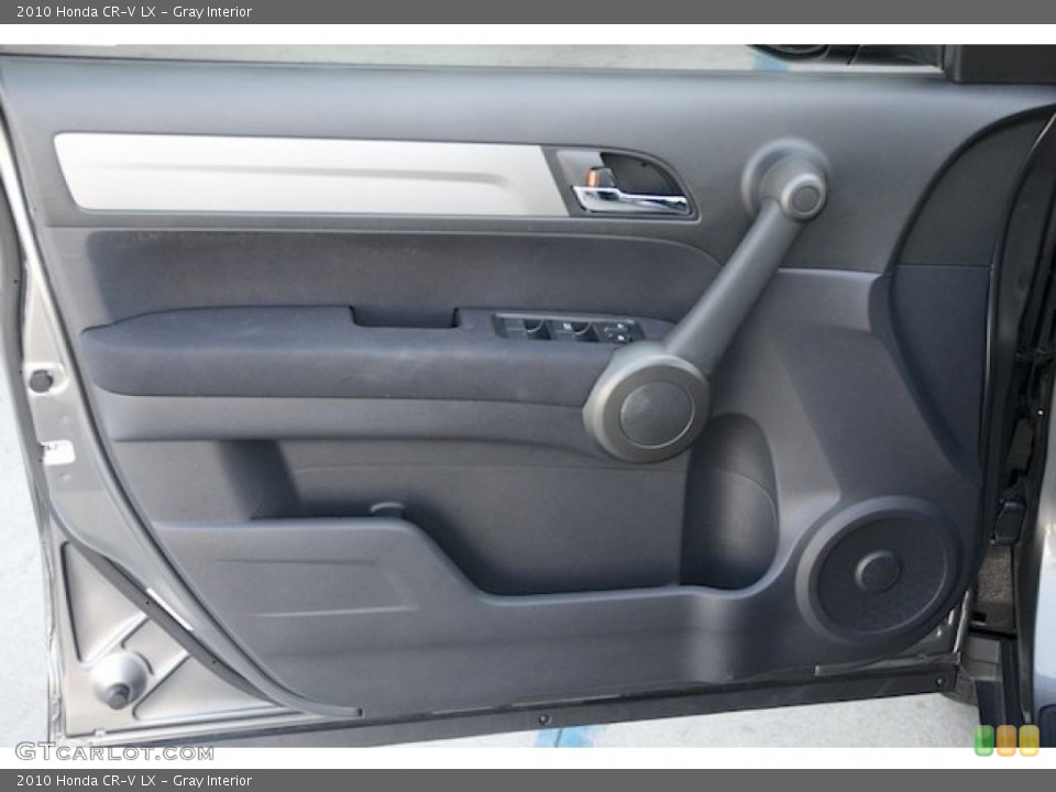 Gray Interior Door Panel for the 2010 Honda CR-V LX #72724663