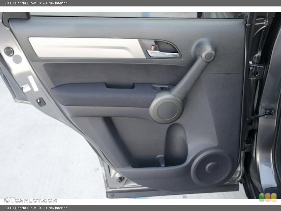 Gray Interior Door Panel for the 2010 Honda CR-V LX #72724685
