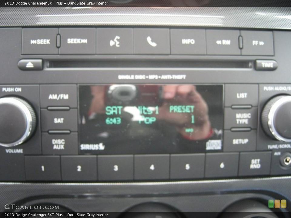 Dark Slate Gray Interior Audio System for the 2013 Dodge Challenger SXT Plus #72773079