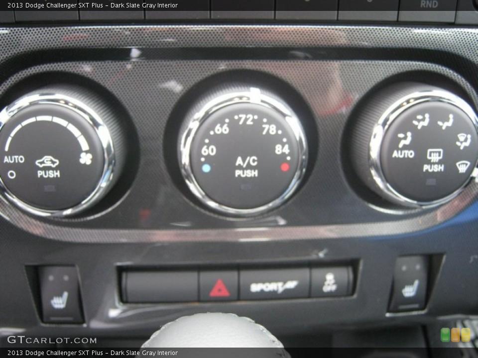 Dark Slate Gray Interior Controls for the 2013 Dodge Challenger SXT Plus #72773106
